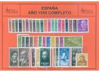 Sellos - España - 2º Centenario - Años Completos - 1955 - ** - Año Completo 1955