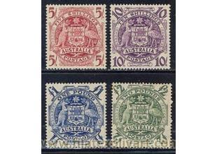 Sellos - Sellos Temáticos - Canguros - Australia - 1949/50 - 164/67 - ** - Australia