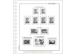 Material Filatélico - Suplementos para sellos - España - Filatex F.F. - FF2016M - Suplemento 2016 montado