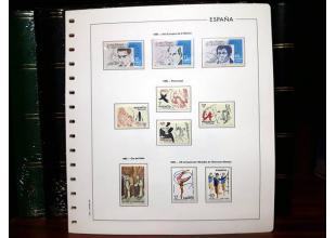 Sellos - España - 2º Centenario - Lotes y Colecciones - ** - España 1985/1988 (Ref - N9)