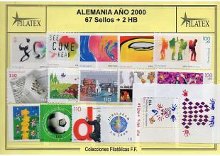 Sellos - Alemania federal - Años completos - 2000 - **