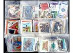 Países Ultramar (II) - 9 Paquetes de 100 sellos de diferentes países de ultramar