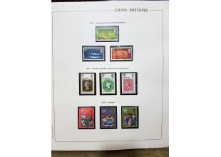 Sellos - Gran Bretaña - Colecciones - 1970/90 - ** - Colección Gran Bretaña 1970/88 (Ref-GB02)