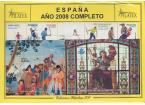 Sellos - España - 2º Centenario - Años Completos - 2008 - ** - Año Completo 2008 - De regalo las hojas de España FF 2008 sin pro