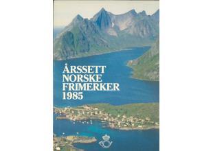 Sellos - Noruega - Carpetas correos - 1985 - ** - Carpeta anual de sellos